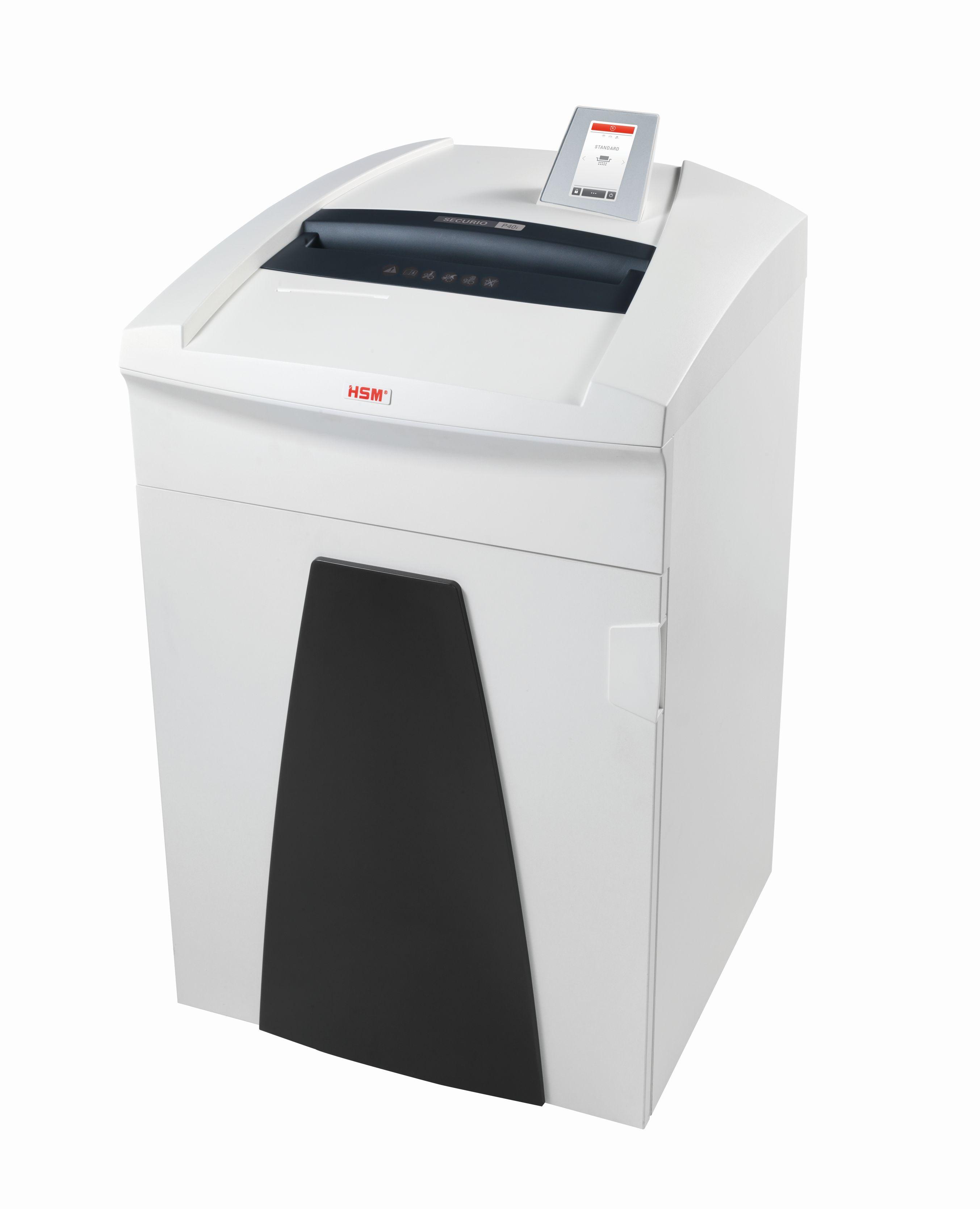 Securio P36i paper shredder